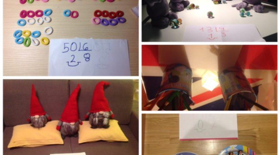 Ejemplos de la creatividad de nuestros alumnos al hacer la